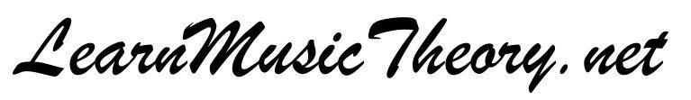 Music theory at LearnMusicTheory.net